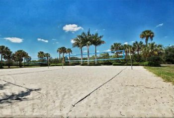 Bella Terra volleyball courts