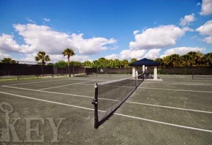 West Bay Club tennis courts