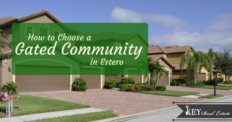 How to Choose a Gated Community in Estero